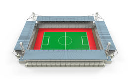 Stadium Building Isolated Royalty Free Stock Images