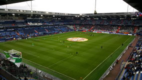 Stadium of Caen. Its the football stadium of caen in France stock photography