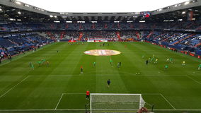 Stadium of Caen. Its the football stadium of caen in France royalty free stock images
