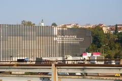 Stadium called Polarka under construction Royalty Free Stock Image