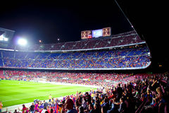 Stadium Camp Nou Barcelona Stock Photos