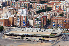 Stadium in Cartagena, Spain Royalty Free Stock Images
