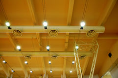 Stadium ceiling Stock Image