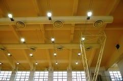 Stadium ceiling Royalty Free Stock Image