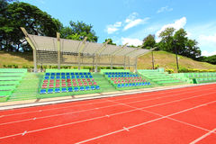 Stadium chairs Royalty Free Stock Image