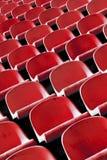 Stadium chairs Stock Images