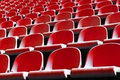 Stadium chairs Stock Photos