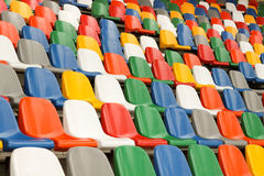 Stadium Chairs Stock Photo