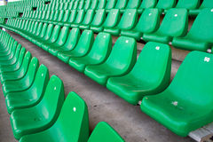 Stadium chairs Royalty Free Stock Photo