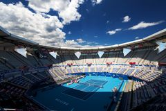 Stadium of China Open. Inside view Stock Photography