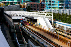 Stadium - Chinatown Station, Vancouver, B.C. Stock Images