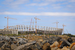 Stadium construction Stock Photography