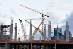 Stadium Construction. Construction on New Stadium in Minneapolis Minnesota, July 2014 Stock Photography
