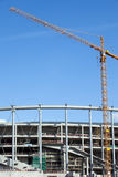 Stadium Construction Site Royalty Free Stock Photos