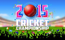 Stadium of cricket Stock Photo