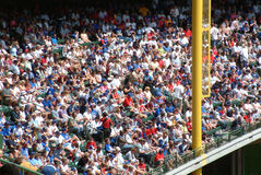 Stadium Crowd of Fans Stock Photo