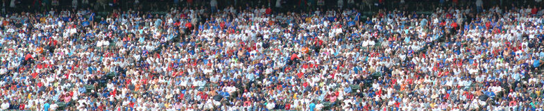 Stadium Crowd Panorama Stock Photos