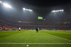 Stadium crowd ultras Royalty Free Stock Image