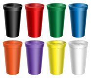 Stadium Cups Royalty Free Stock Photography