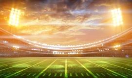 stadium 3d rendering Zdjęcie Royalty Free