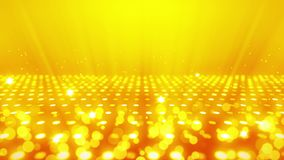 Stadium, das Hintergrund mit viele Lichteffekt beleuchtet Abstrakte Discoschleifenanimation Gl?hende Neonbeleuchtung und eine lee vektor abbildung