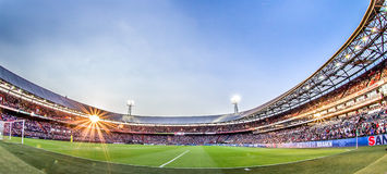 Stadium de Kuip费耶诺德队概要 库存照片