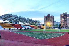 stadium stockfotos