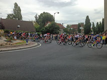 Stadium 21 des Tour de France-2017 stockbild