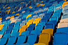 Stadium details Royalty Free Stock Photography