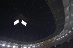 Stadium dome. Inside a football stadium, National Arena, Bucharest Royalty Free Stock Photography