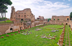 The Stadium of Domitian in Rome Stock Photos