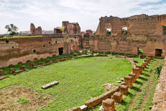 The Stadium of Domitian in Rome, Italy Stock Photography