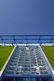 Stadium door. The structure detail of a stadium door in Paris Royalty Free Stock Photography