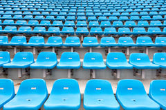 Stadium empty seats Stock Photo