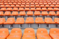 Stadium empty seats Royalty Free Stock Images