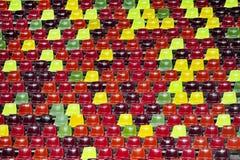 Stadium empty tribune Stock Photography