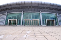 The stadium entrance. In China Zhejiang stadium entrance Stock Image