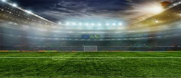 Soccer bal.football .. Royalty Free Stock Photo