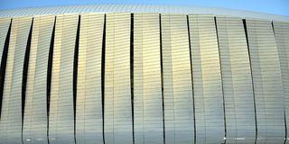 Stadium exterior detail Royalty Free Stock Photos