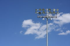 Stadium or field lights Royalty Free Stock Photography