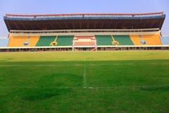 Stadium - Field and tribunes Royalty Free Stock Photography