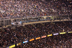 Stadium filled with people Royalty Free Stock Image