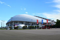 Stadium `Fisht ` in the Sochi Olympic Park Stock Image