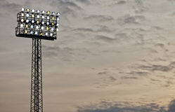 Stadium Floodlight Royalty Free Stock Photo