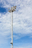 Stadium floodlight Stock Photos