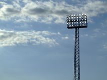 Stadium floodlight Royalty Free Stock Photos