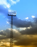 Stadium floodlights 05 Stock Image