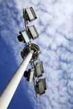 Stadium floodlights Stock Photos