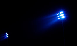 Stadium floodlights Royalty Free Stock Photography