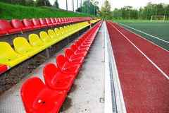 Stadium football Royalty Free Stock Image